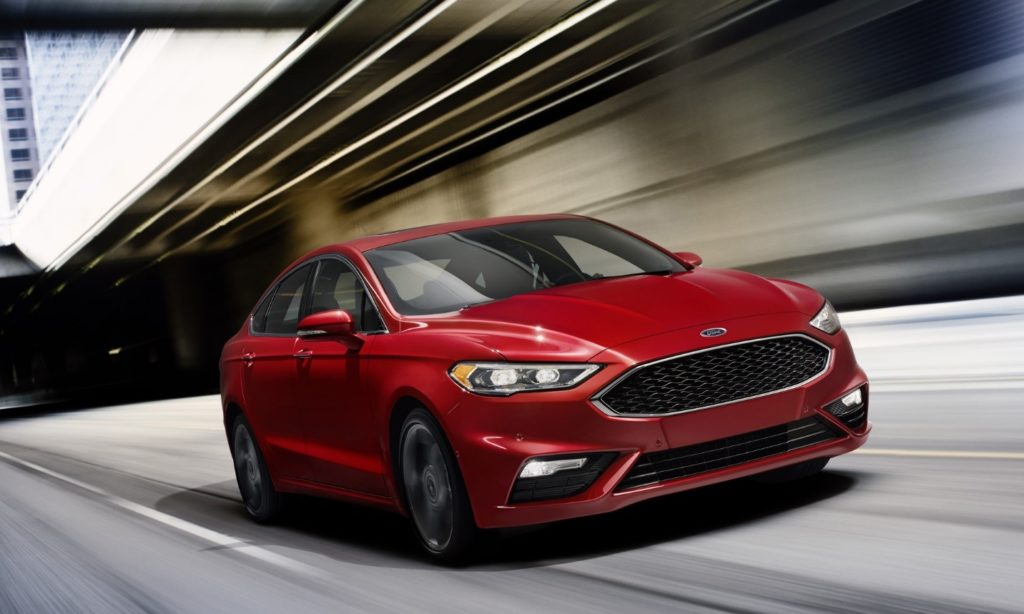 2017 Ford Fusion Hoover