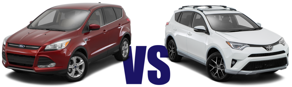 Ford Escape vs Toyota RAV4