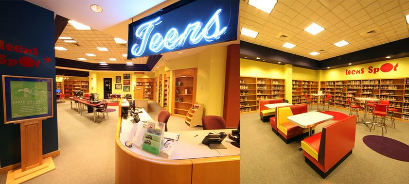 Hoover Library Teen Spot