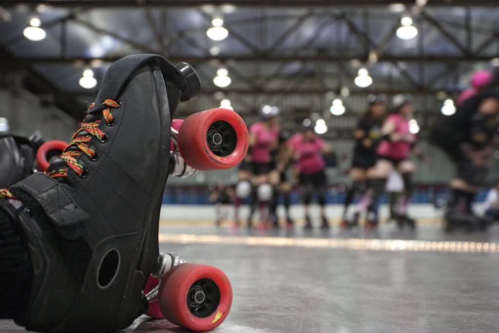 Check Out A Roller Derby Bout This Weekend